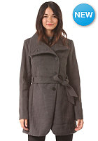 VILA Womens Resque Coat dark grey melange