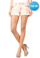 VILA Womens Ripped Shorts peach nectar
