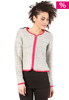 VILA Womens Salt Knit Cardigan light grey melange