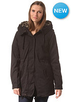 VILA Womens Savanna Parka Jacket black