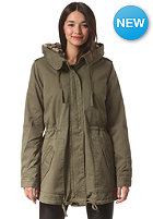 VILA Womens Savanna Parka Jacket ivy green