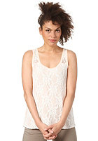VILA Womens Scoops Lace Tank Top novelle peach