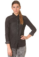 VILA Womens Sirly Denim Shirt black