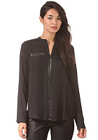 VILA Womens Skeletal L/S Shirt black