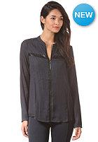 VILA Womens Skeletal L/S Shirt total eclipse