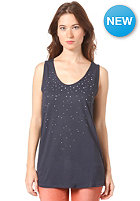 VILA Womens Sparkle Top marine