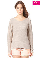 VILA Womens Springly Knit Top sand shell