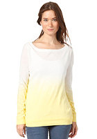 VILA Womens Tallina Knit Sweat yellow cream