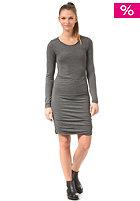 VILA Womens Trine L/S Dress medium grey melange
