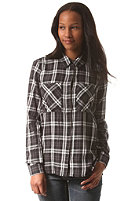 VILA Womens Vicut Checked Shirt black