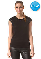 VILA Womens Viloussi Sequence Top black