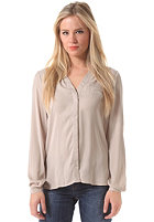 VILA Womens Vital L/S Pocket Shirt string