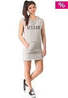 VILA Womens Viupcoming Sweat Tunic light grey melange
