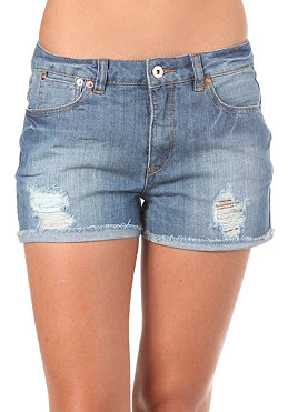 VILA Womens Westy Denim Shorts dark blue denim