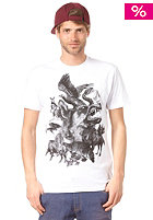 VOLCOM Animal Farm S/S Slim T-Shirt white