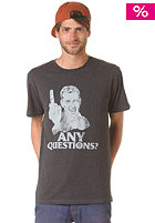 VOLCOM Any Questions S/S T-Shirt heather black