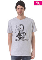 VOLCOM Any Questions S/S T-Shirt heather grey