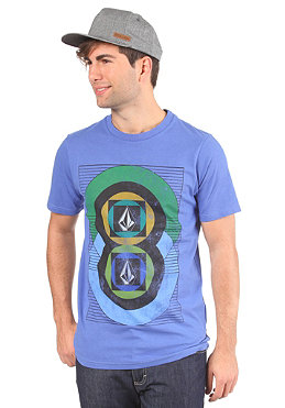 VOLCOM Around S/S T-Shirt electric blue