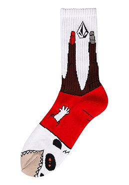 VOLCOM Ash Puppet Socks 2012 red