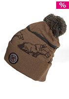VOLCOM Bearquard Beanie hide brown