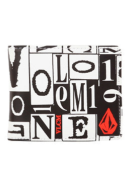 VOLCOM Boldface Small Wallet fire red