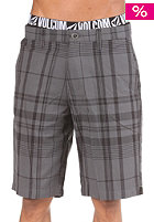 VOLCOM Bryson Plaid Shorts black