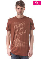 VOLCOM Chalk Lightweight S/S T-Shirt bear brown