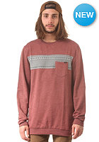 VOLCOM Check Crew Sweat burnt sienna