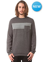 VOLCOM Check Crew Sweat heather black