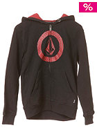 VOLCOM Circle Check Basic Zip Hooded Sweat black