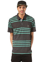 VOLCOM Circle Square Polo S/S Shirt black