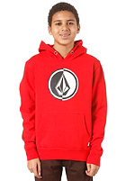 VOLCOM Circle Stone Basic Sweat drip red