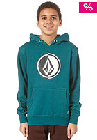 VOLCOM Circle Stone Basic Sweat strobe green
