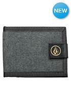 VOLCOM Circle Stone Cloth Wallet charcoal heather