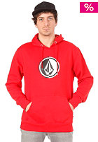VOLCOM Circle Stone Hooded Sweat drip red