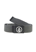 VOLCOM Circle Web Belt charcoal heather