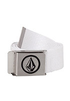 VOLCOM Circle Web Belt white