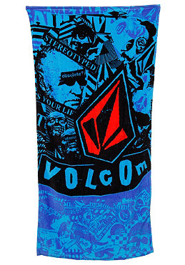 VOLCOM Collage Towel blue
