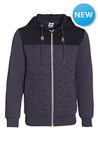 VOLCOM Colony Quilted Hooded Zip Sweat graphite