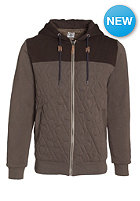 VOLCOM Colony Quilted Hooded Zip Sweat mushroom
