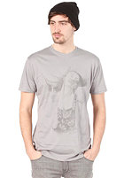 VOLCOM Contour To The WInd LT S/S T-Shirt slate