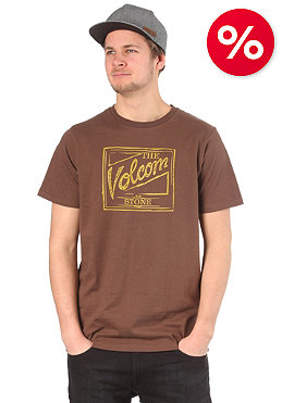 VOLCOM Coors Script T-Shirt tacoma brown tacoma brown