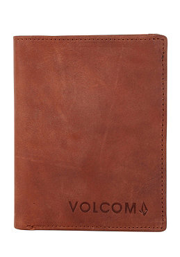VOLCOM Cowstone 2F Wallet S brown vintage