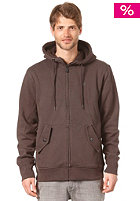 VOLCOM Da Standard Sherpa Lined Hooded Sweat drip brown