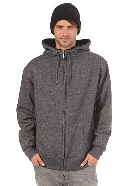 VOLCOM DA Standard Sherpa Lined Hooded Zip Sweat black combo