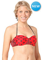 VOLCOM Dada Dot Underwire Bandeau red