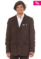VOLCOM Daper Stone Suit Blazer Jacket drip brown