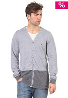 VOLCOM Dark Dye Cardigan dark grey heather