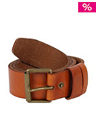VOLCOM Deadstock Leather Belt natural