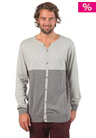 VOLCOM Double Time Cardigan heather silver